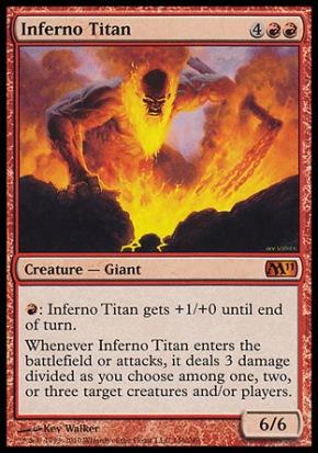 Inferno Titan by Kev Walker