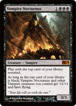 What to Expect: The Impact of M13 on the metagame - Black (1/6)