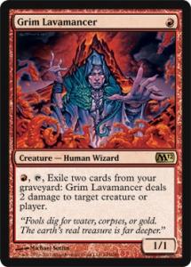 Grim Lavamancer