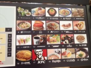 Food court at Aeon Nagoya Dome