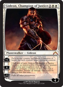 Gideon, Champion of Justice: Probability - Moderate