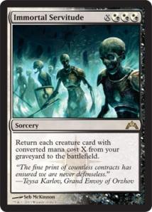 Immortal Servitude: Probability - Moderate