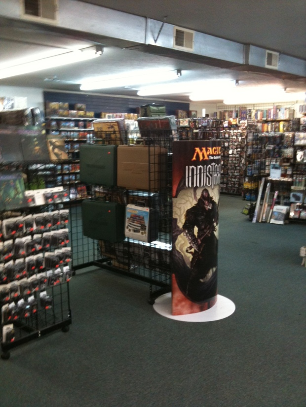 Main store at Fantasy Games