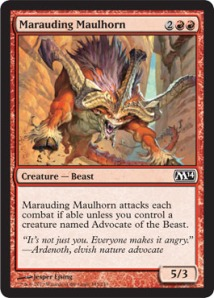Maruading Maulhorn