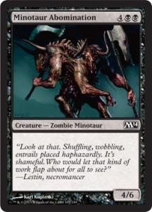 Minotaur Abomination