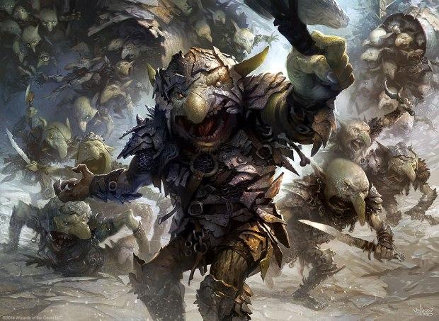 Goblin-Rabblemaster-MtG-Art