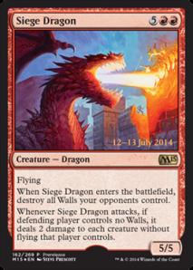 Siege Dragon M15 Prerelease Promo