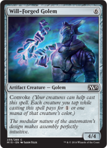 Will-Forged Golem