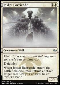 Jeskai Barricade