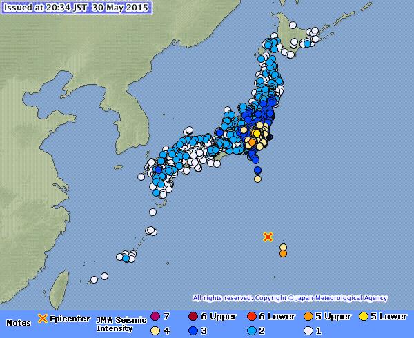 May 30th Earthquake