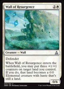 Wall of Resurgence
