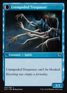 Unimpeded Trespasser