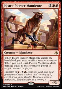Heart-Piercer Manticore