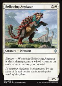 Bellowing Aegisaur