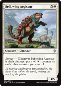 Bellowing Aegisaur