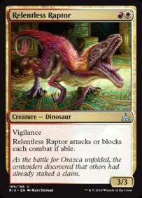 Relentless Raptor