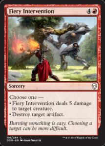 Fiery Intervention