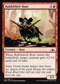 Rubblebelt Boar